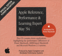 Apple Reference, Performance & Learning Expert. Special Edition Power Macintosh, May 1994.