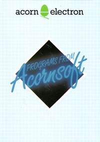 Acorn Electron - Programs from Acornsoft