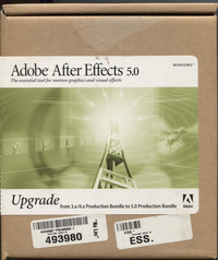 Adobe After Effects 5.0 (Upgrade)