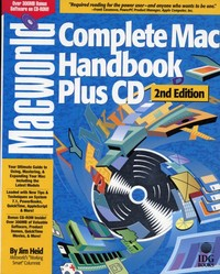 Mac World Complete Mac Handbook Plus CD 2nd Edition