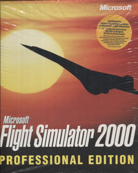 Flight Simulator 2000 - Professional Edition