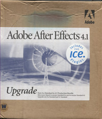 Adobe After Effects 4.1 (Upgrade)