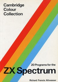20 Programs for the ZX Spectrum