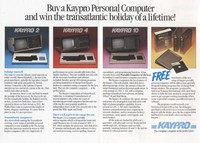 Win A Kaypro 'Blue Chip' Holiday Package