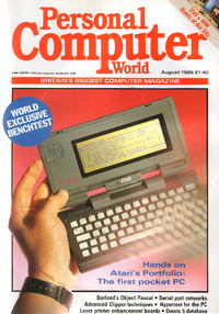 Personal Computer World - August 1989