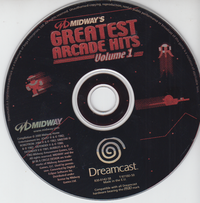 Midway's Greatest Arcade Hits Volume 1 (Disc only)