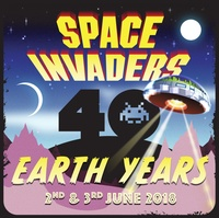 Space Invaders: 40 Earth Years - 2-3 June 2018