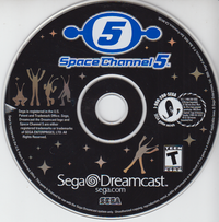 Space Channel 5 (Disc only)