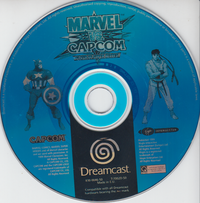 Marvel vs. Capcom: Clash of Super Heroes (Disc only)