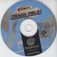 ESPN International Track & Field (Disc only)