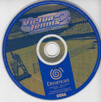Virtua Tennis 2 (Disc only)