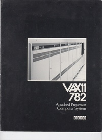 VAX-11 782 - Attached Processor Computer System