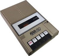 Atari 410 Program Recorder (Warner)