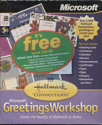 Microsoft Greetings Workshop - Hallmark Connections