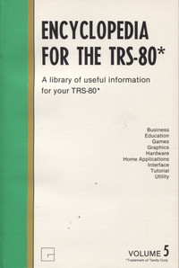Encyclopedia for the TRS-80 Volume 5