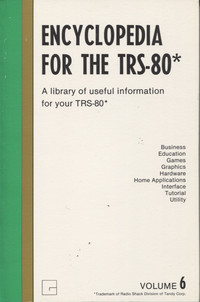 Encyclopedia for the TRS-80 Volume 6