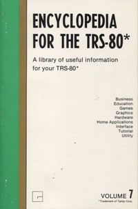 Encyclopedia for the TRS-80 Volume 7