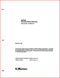 Mentec - RSTS/E Documentation Directory