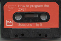 How to program the ZX81