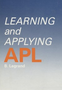 Learning an Applying APL