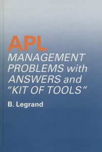 APL Management Problems with Answers and