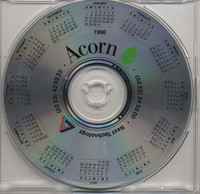 Acorn CD-R Pre-Production Disc