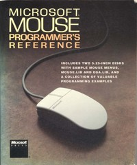 Microsoft Mouse Programmer's Reference