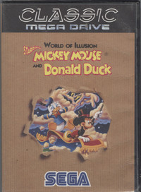 World of Illusion starring Mickey Mouse and Donald Duck - (Classic Mega Drive)