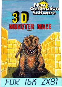 3D Monster Maze (Colour Sleeve)