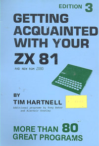 Computing books at the centre for computing history getting acquainted with your zx81 fandeluxe Image collections