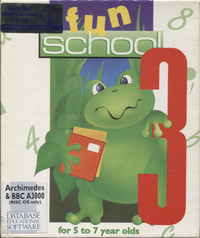 Fun School 3 - for 5-7 year olds