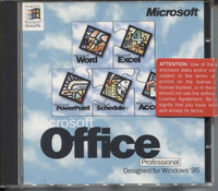Microsoft Office for Windows 95 (Professional)