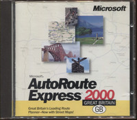 Microsoft AutoRoute Express Great Britain 2000