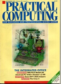 Practical Computing - September 1987