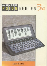 Psion Series 3a User Guide