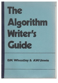 The Algorithm Writer's Guide