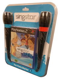 Singstar Party (The Party Starter Pack) (Sealed)