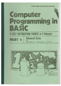 Computer Programming in BASIC - Part 4 - Advanced BASIC