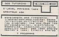 O Level Physics Tape