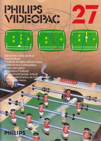 Philips Videopac 27 - Electronic Table Football