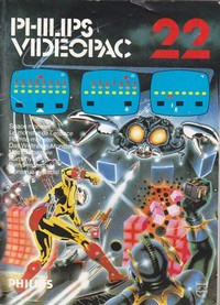 Philips Videopac 22 - Space Monster