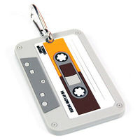 Cassette Tape Luggage Tag