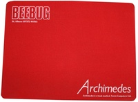 Beebug Archimedes Mouse Mat (red)