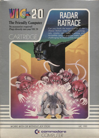 Radar Rat Race (Cartridge)