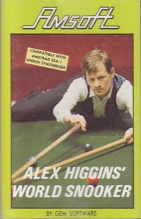 Alex Higgins World Snooker