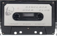 Sinclair User Club Tape 5 - Jackpot