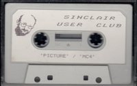 Sinclair User Club Tape 4 - Picture