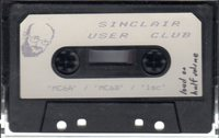 Sinclair User Club Tape 6 - MC6A