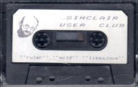 Sinclair User Club Tape 10 - Ruler