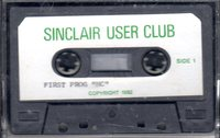 Sinclair User Club Tape 1 - MC